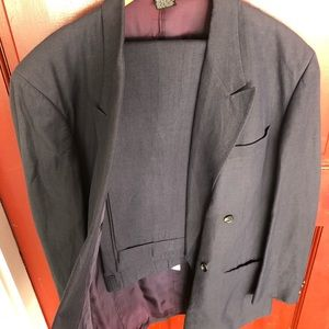 Vintage Mrns Claiborne double breasted suit